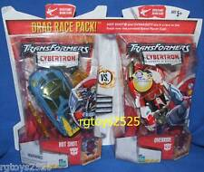 "Transformers Cybertron 6"" Hot Shot vs Override New Factory Sealed 2005"