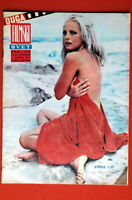 VIRNA LISI #2 ON COVER 1968 VERY RARE EXYU MAGAZINE