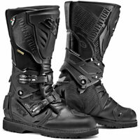 Sidi Adventure 2 Moto Motorcycle Bike Gore-Tex Boots Black