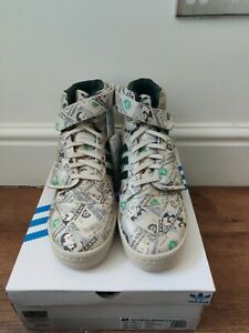 Adidas Jeremy Scott Forum Wings 1.0 Money Shoes UK Size 11.5 Box damage