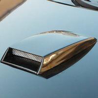 Universal Auto Lufthutze Lufteinlass Luftstrom Motorhaube Dach Decken Schwarz