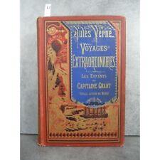 Hetzel Jules Verne les enfants du capitaine grant voyage autour du monde cartonn