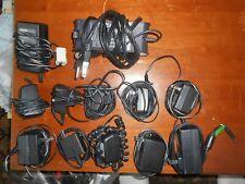 12 Black Power Supplies Adaptors & Chargers Dell Philips US Robotics Motorola NR