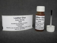 Extra Strong LEATHER GLUE for DIY REPAIR tears RIPS sofas shoes car upholstery
