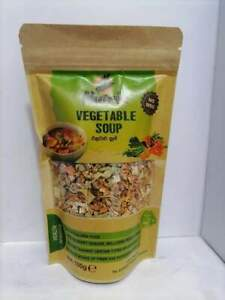 Nutria Dried Instant Vegetable Soup Mix 100g Organic 100% Pure Natural Food