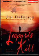 Audio book - Leopards Kill by Jim DeFelice  -  CD