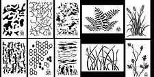 """Camouflage Painting Stencils Duck Boat Camo Gun 10 Mil Duracoat 14"""" (10 Designs)"""