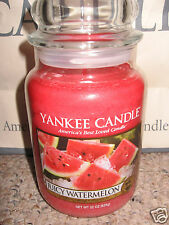 Yankee Candle JUICY WATERMELON Large Jar 22oz Candle