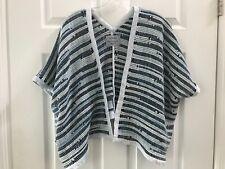 Tonle Zero Waste Fair Fashion Raw Recycled Fabric Jacket One Size