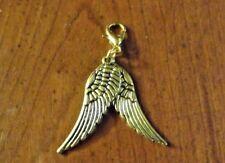 charms doré 2 ailes d'ange