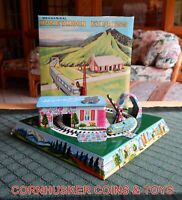 MARX HONEYMOON EXPRESS TIN WIND UP 1966 NEW OLD STOCK CONDITION WITH BOX!