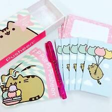 Pusheen Mini Writing Set Pen Postcards Notecards & Envelopes, Kawaii, Stationery