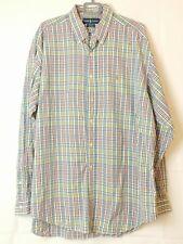 Polo Ralph Lauren Blake 100 % Cotton Multicoloured Long Sleeved Shirt XL