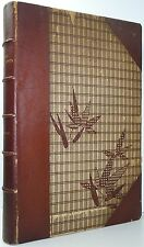 BASIL STEWART Subjects Portrayed In Japanese Colour-Prints FINE BINDING 1922