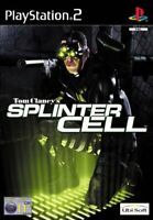 Tom Clancy's Splinter Cell (PS2 Game) *GOOD CONDITION*