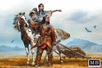 Master Box 35189 - 1/35 - Indian Wars Series. On the Great Plains Model Kit