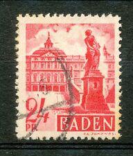 Baden  8 gebruikt met plaatfout IV