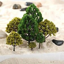 40pcs Mixed Scale Model Trees HO N O Scale Model Trees Train Railway Layout