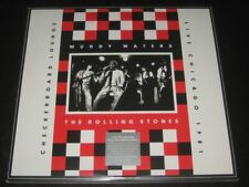 Muddy Waters & The Rolling Stones rare 2LP Checkerboard Lounge '81 Live Chicago