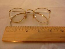 Vintage 12kt Gold Filled gold frame glasses in Original Box