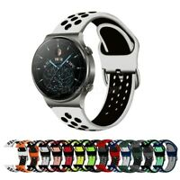 For Huawei Watch GT 2 Pro Silicone Sports Band Strap Breathable