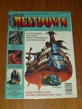 MELTDOWN #5 DECEMBER 1991 MARVEL BRITISH MONTHLY AKIRA NIGHT BREED^