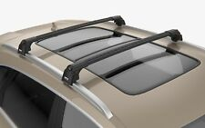 Turtle Black Air V2 Roof Rail Racks Cross Bar for JEEP GRAND CHEROKEE (WK2)