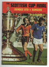 Orig.PRG Schottland / Scottish Cup 80/81 FINALE  DUNDEE UNITED - GLASGOW RANGERS