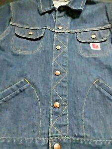vintage 70's denim jean blue GwG jacket