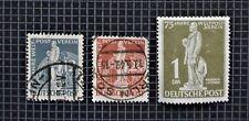 Alemania, Berlín 1949 Unión Postal Universal 1DM-estampillada sin montar o nunca montada CV £ 150+ & 12 y 24 PF USD