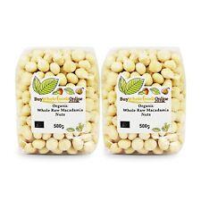 Organic Whole Raw Macadamia Nuts 1kg | Buy Whole Foods Online | Free UK Mainland