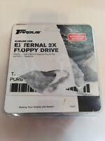 """NIP Targus Slimline USB External 2x 3.5"""" Floppy Drive for Use w/ Windows PC/Mac"""