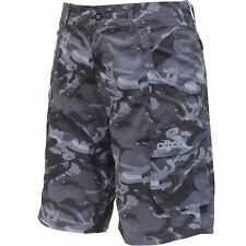 AFTCO Tactical Fishing Short Black Camo 34