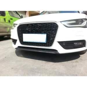 Audi A4 (B8.5) Carbon Fibre Front Bumper Lip Spoiler