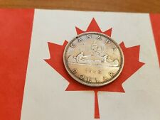 🍁 SILVER DOLLAR 1963 Canadian (18.6+ grams pure silver) 🍁 LOVELY COIN