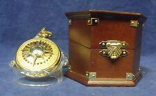 Franklin Mint El Cazador Pocket Watch with Wooden Presentation Case NIB