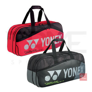 Yonex 9831WEX Pro Tournament Bag (Available in Black or Flame Red)