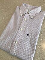 Brooks Brothers Original Polo Sport Dress Shirt Mens L $92 Pink/White Check EUC