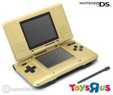 Nintendo DS - Konsole #gold Toys 'R' Us Limited Edition + Stromkabel