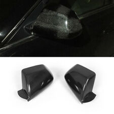 Rearview Mirror Cover Side Wing Caps Carbon Fiber For Cadillac CTS 2009-2013