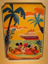 Disney Cruise Line Dcl Mickey Minnie Mouse Hold Hands Offshore Print Peraza