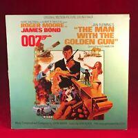 ORIGINAL SOUNDTRACK The Man With The Golden Gun 1974 Australia vinyl LP 007 BOND