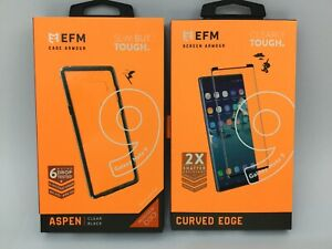 EFM D30 Aspen Case & Screen Armour for Samsung Galaxy Note9 AU Sellers Genuine