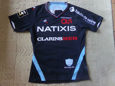 maillot rugby RACING 92 porté match N° 16 Camille CHAT top 14