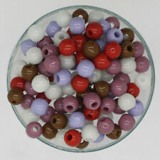 Czech Glass Rose Garden Shades 5mm Bead Earthy Color Multi Mix pack /100