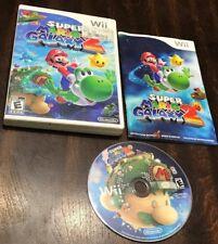 Super Mario Galaxy 2 (Nintendo Wii, 2010) TESTED Video Game