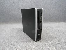 HP Compaq Elite 8300 Ultra-Slim Desktop PC Intel Core i3 3.3GHz 4GB RAM 250GB HD