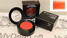 "MAC Single Eye Shadow ORANGE Matte Finish ""Neon orange"" Makeup NEW IN BOX HTF"