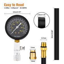Diesel Engine Compression Tester Auto Engine Cylinder Pressure Gauge Tester Kit