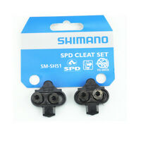 Shimano SM-SH51 SPD MTB Bike Bicycle Multi-Release Pedal Cleats Black New US